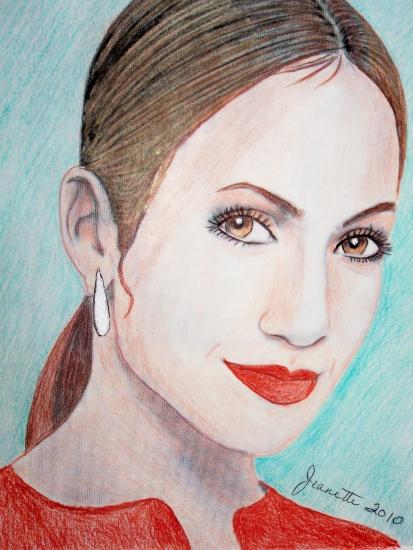 Jennifer Lopez by Jeanette